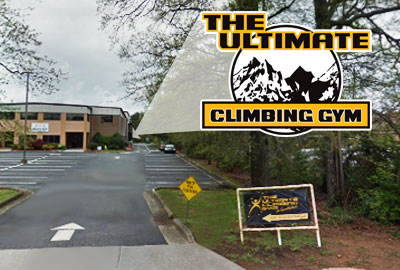 Ultimate Climbing Gym Entrance