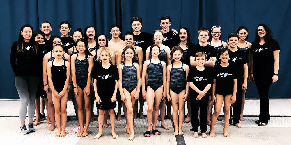 Diving Team Photo